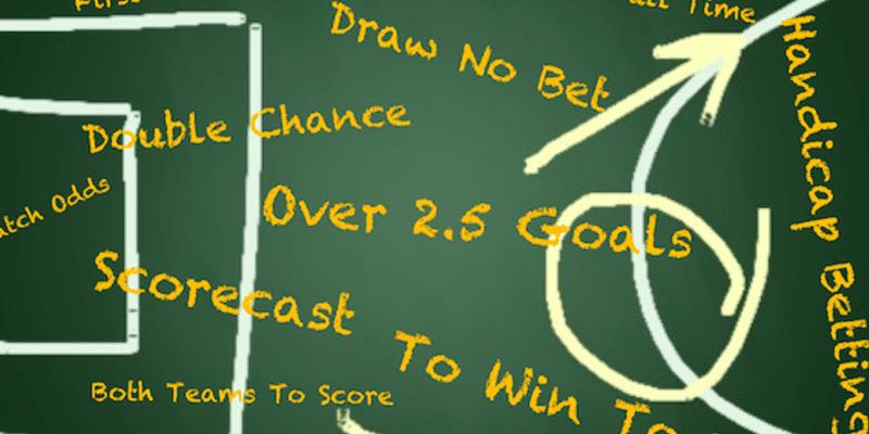 Diferentes tipos de apostas