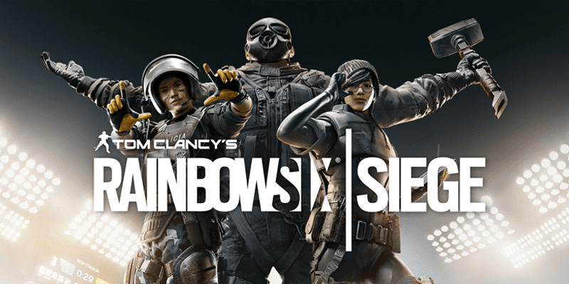 Rainbow six logo