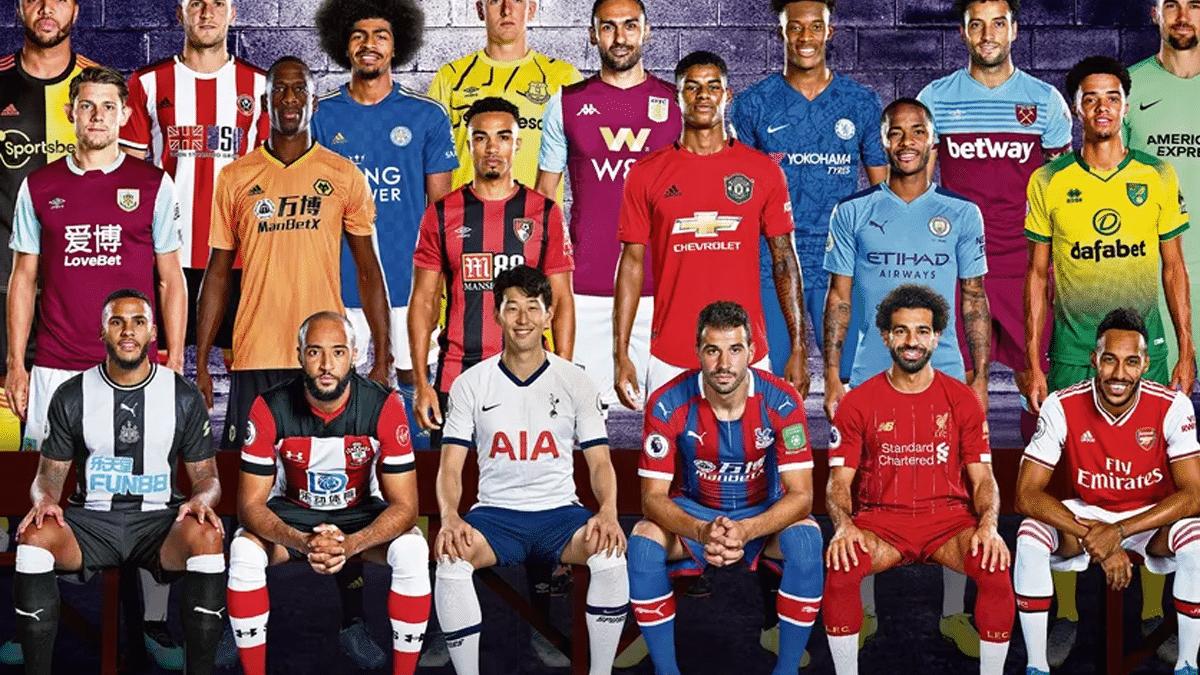 premier league background